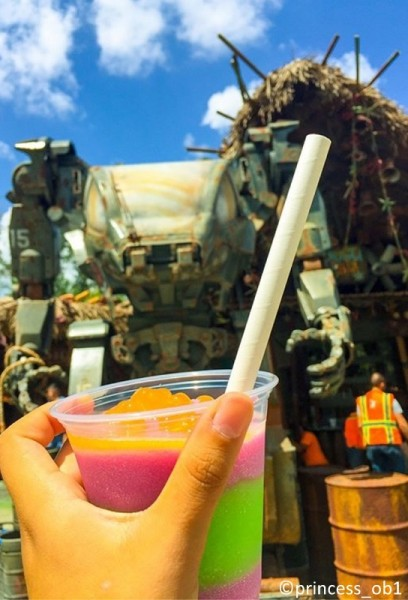 Fun, frozen drinks in Pandora!