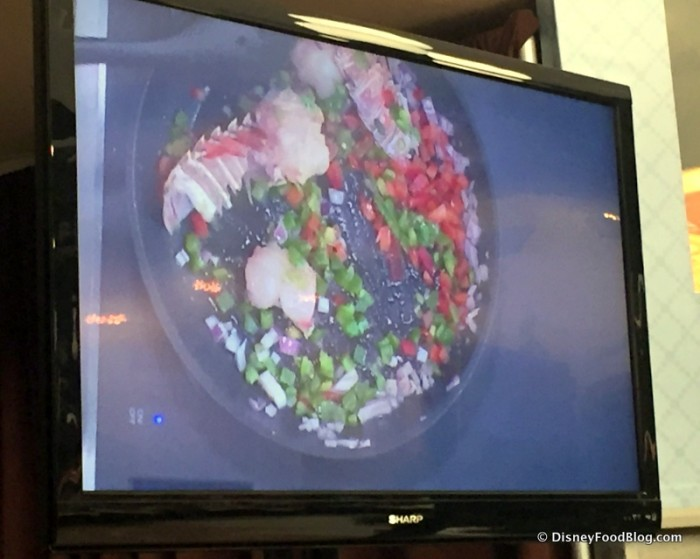 Culinary Demo -- Lobster Creole