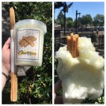 Review: Churro Cotton Candy (with a Churro!) in Downtown Disney at Disneyland