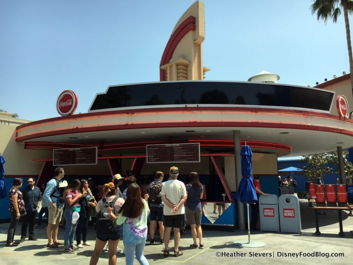 Cosmic Canteen in Disney California Adventure