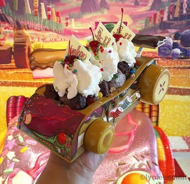 Go-Kart Sundae from Vanellope's Sweets & Treats