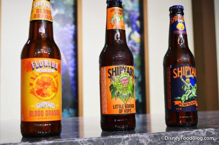 Shipyard Beer Selections for the Seminar