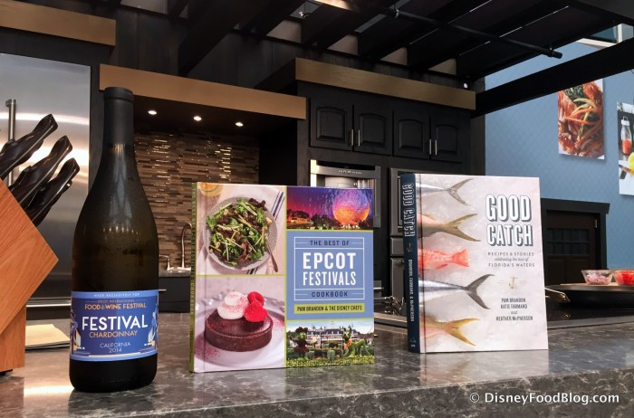 Festival Chardonnay, the Epcot Food and Wine Festival Cookbook, and Good Catch