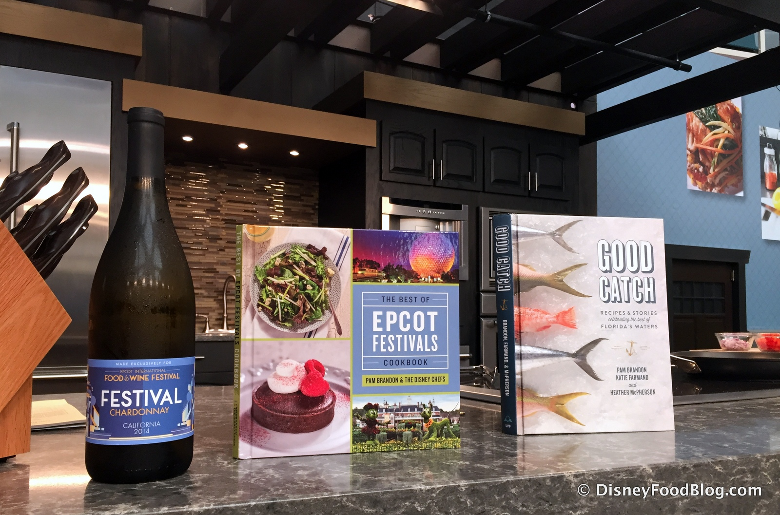Epcot food and wine festival review lobster creole culinary demo festival chardonnay the epcot food and wine festival cookbook and good catch forumfinder Image collections