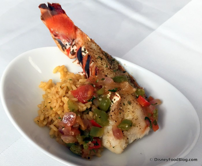 Lobster Creole -- Up Close