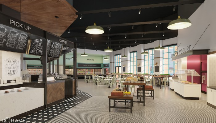BRAND NEW Artist's Rendering of the New Grab and Go Location at the Dolphin