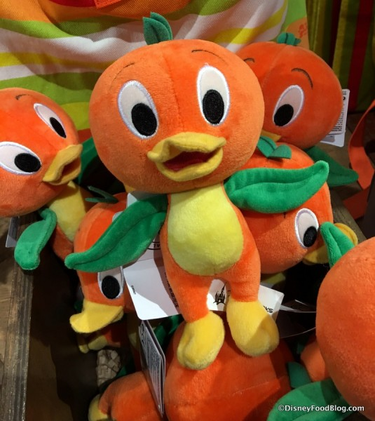 Little Orange Bird Plush
