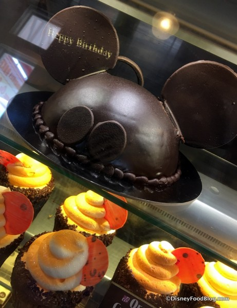 Mickey Celebration Cake on Display