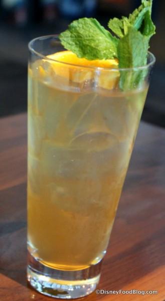 Bourbon Green Tea