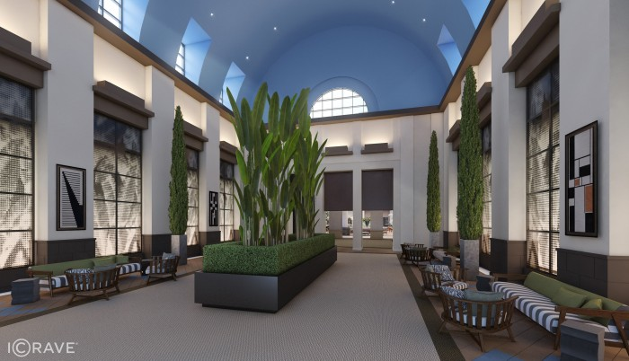 Artist's Rendering of New Walt Disney World Dolphin Lobby