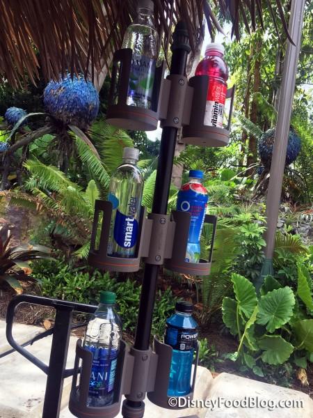 Pandora Bottled Water Display