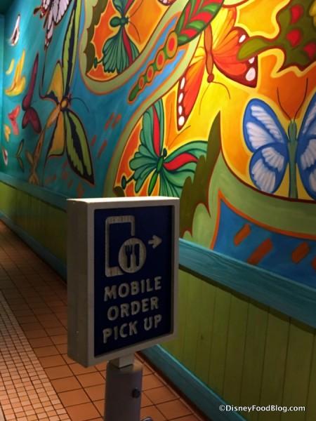 Mobile Order Pick Up