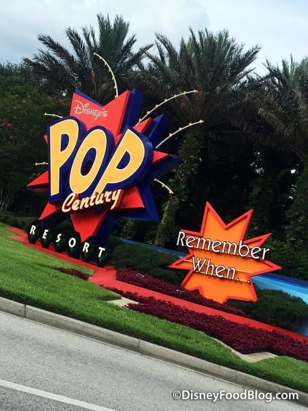 Pop Century Entrance