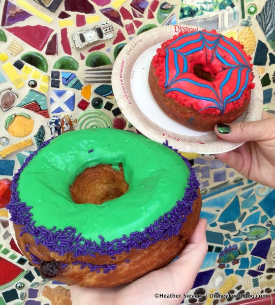 Gamma Sized Doughnut and Spider Bite