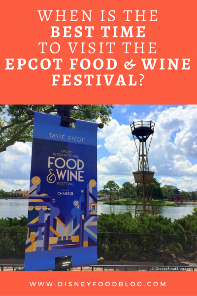 When Is the Best Time to Visit the Epcot Food and Wine Festival?