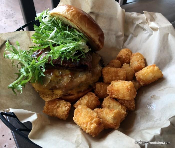 Brisket Cheeseburger