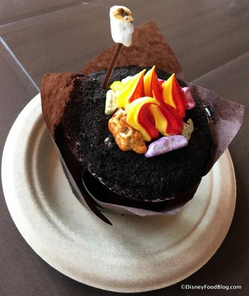 Campfire Cupcake