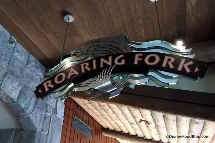 Roaring Fork Indoor Sign