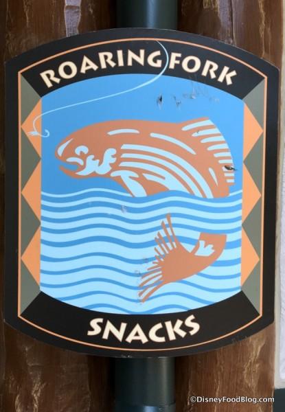 Roaring Fork Outdoor Sign