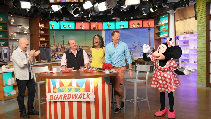 The Chew will be taping again at the Epcot Food and Wine Festival