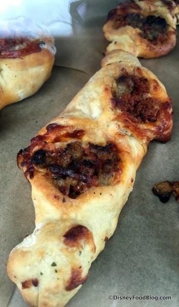 Pepperoni and Sausage Frusta