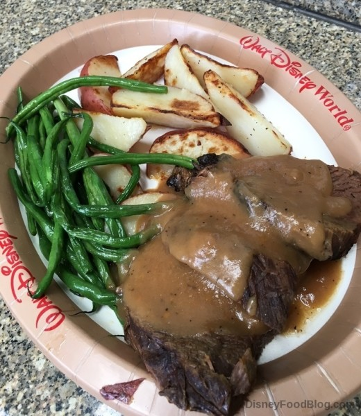 Beef Pot Roast at Contempo Cafe in the Contemporary Resort