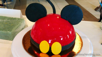 Make your own Mickey Cake at Amorette's Patisserie