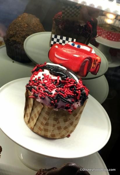 Cars 3 Cupcake