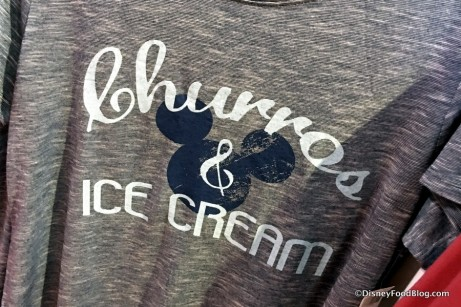 Churros and Ice Cream tshirt featured