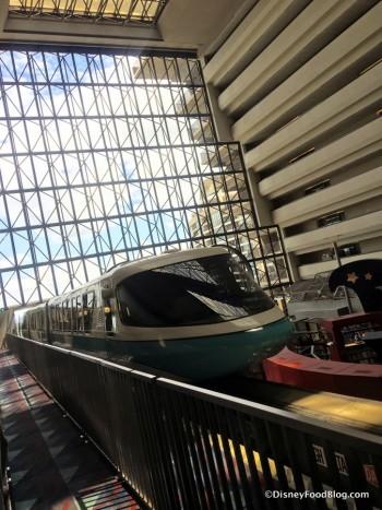 Contemporary Resort Monorail