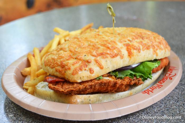 Crispy Chicken BLT