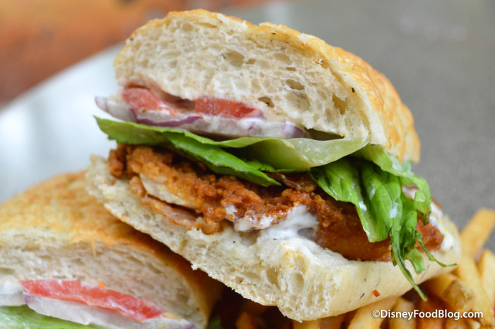 Crispy Chicken BLT