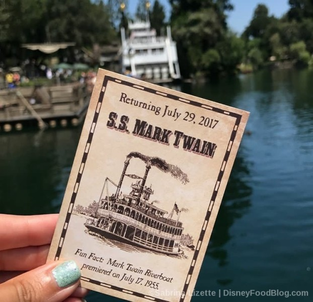 S.S. Mark Twain Collectible Card