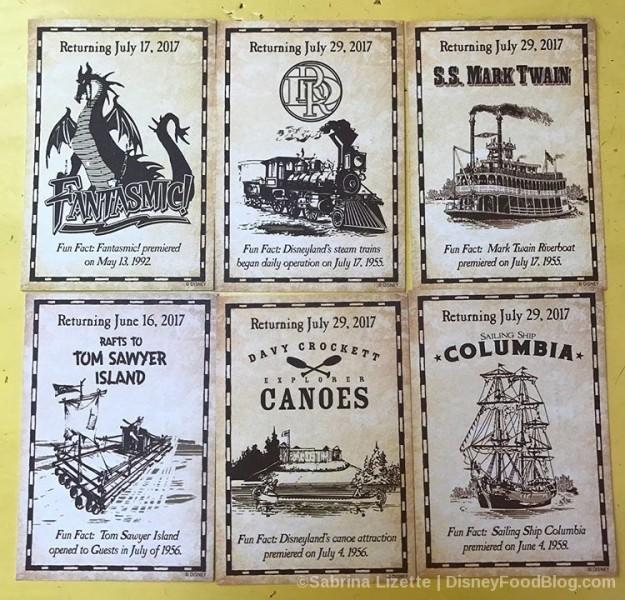 Disneyland Collectible Cards