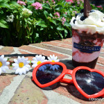 News and Review: Haight Ashberry Sundae (PLUS ACCESSORIES!) from Ghirardelli in Disney Springs