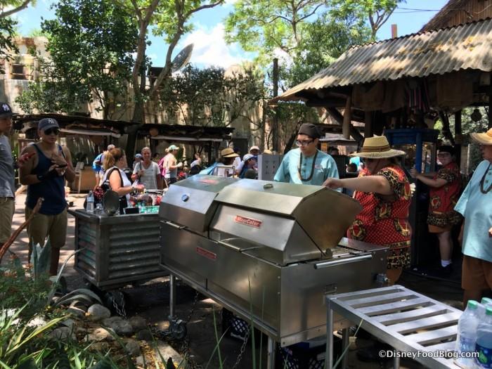 Grill at Harambe Fruit Market