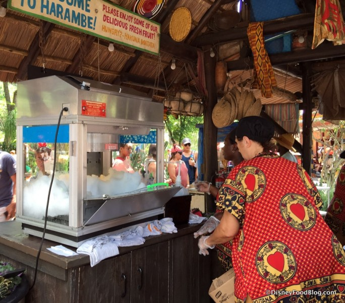 Shaved Ice at Harambe