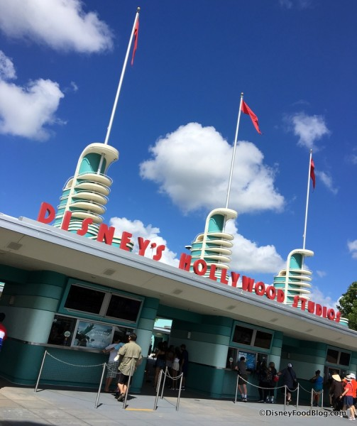Welcome to Hollywood Studios!