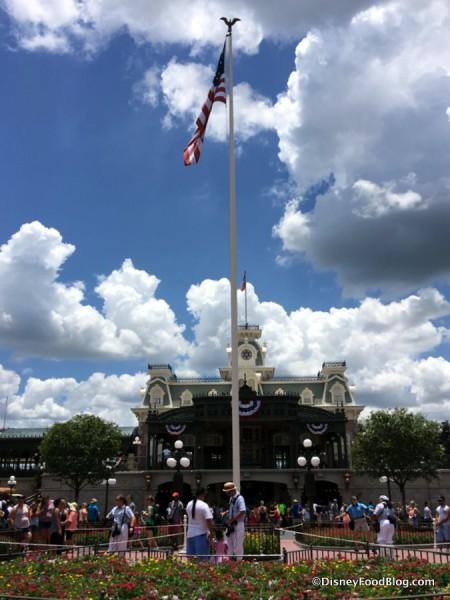 Main Street, U.S.A., Flag