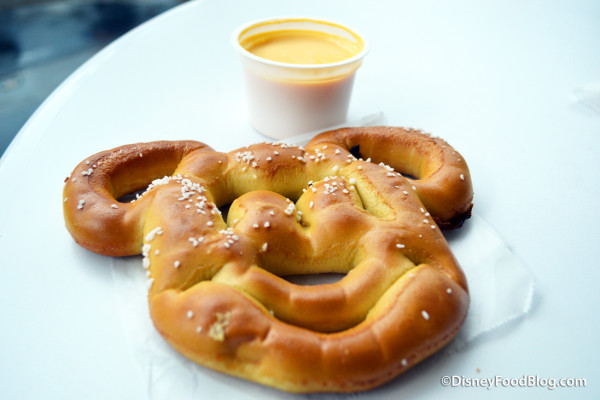 Pretzel Updates in Disney World's Magic Kingdom!