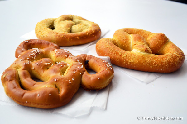 News and Review: Pretzels at Magic Kingdom's Lunching Pad — Our Favorites are BACK!