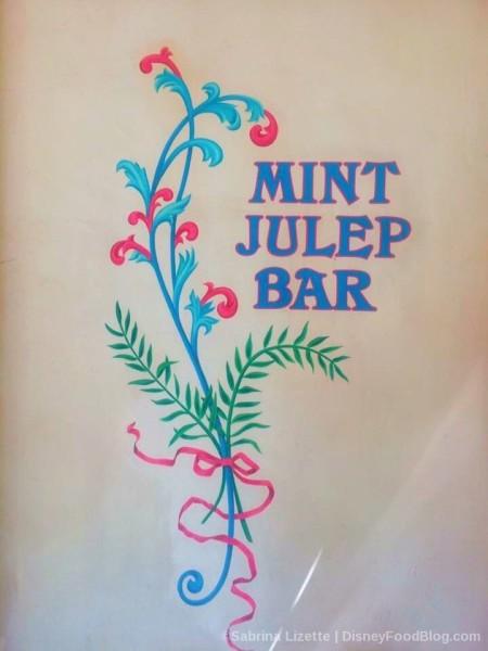 Mint Julep Bar Painted Logo