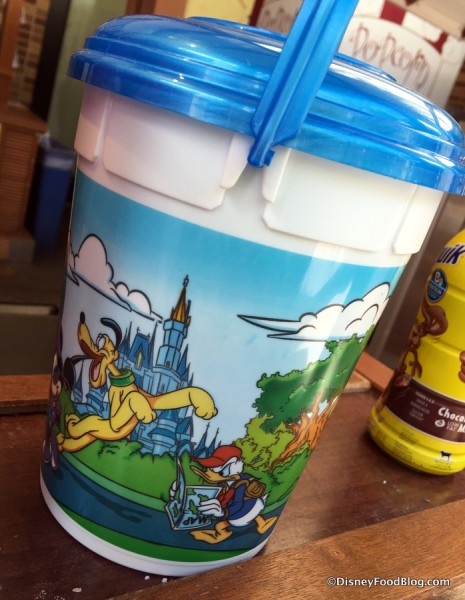 Refillable Popcorn Bucket
