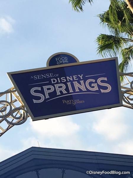 Disney Springs Featured at Party for the Senses