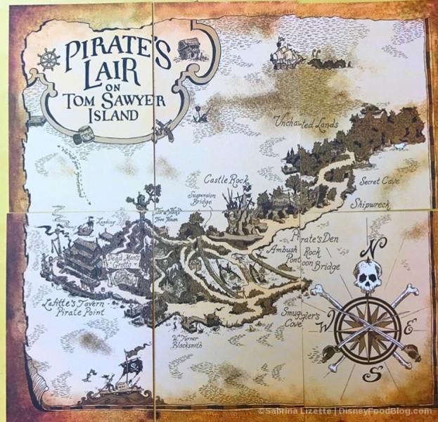 Pirate's Lair Mosaic