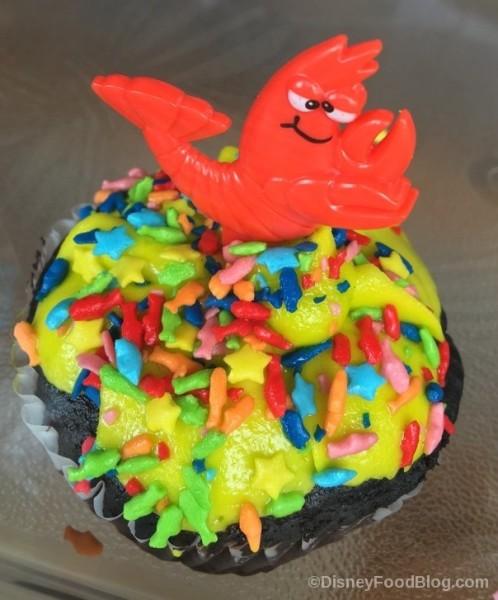 Prince Eric's Under the Sea Cupcake