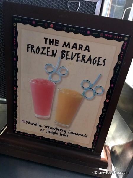 The Mara Frozen Beverages