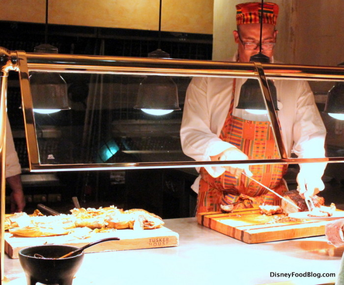 Review dinner at tusker house in disney s animal kingdom