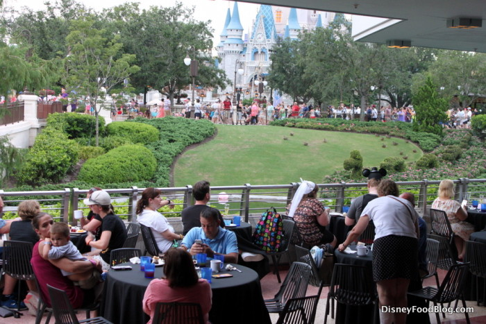 View from Tomorrowland Terrace