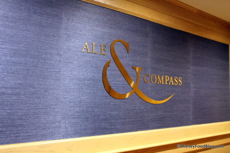 Ale & Compass sign